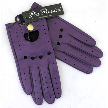 Monza Plain Suede Leather Glove