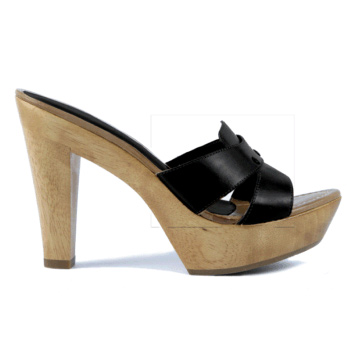 Queen Vachetta High Heel Mule From Unisa Wwsm